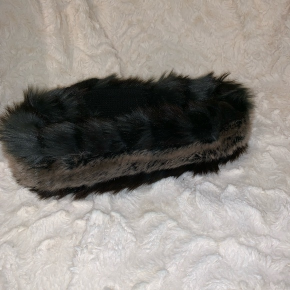 Hudson's Bay Winter headband, reversible faux fur